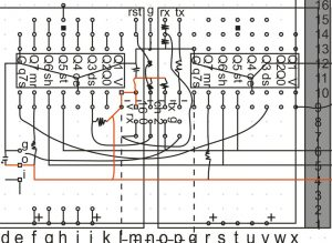 часть компоновочной схемы